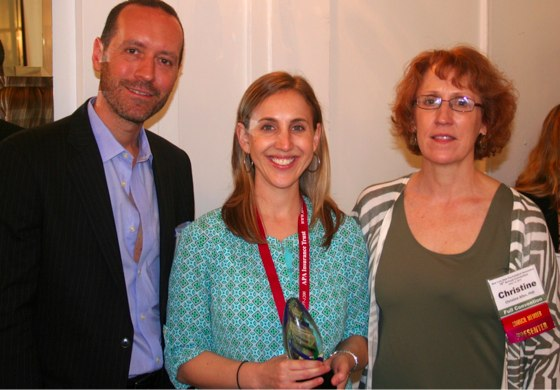 NYSPA President Dr. Eric Neblung with Dr. Johnston and Dr. Allen
